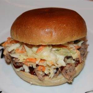 Pulled Pork Burger - Pulled Pork Rezept